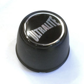 ULTRALITE WHEELS CENTRE CAP TALL TYPE - MATT BLACK / SPML3CCBK