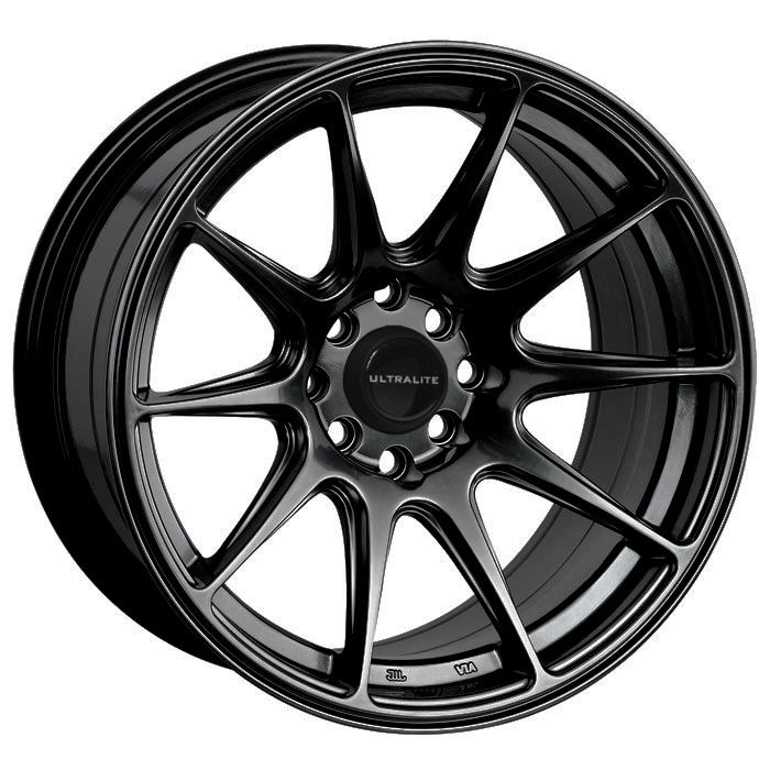 ULTRALITE UL11 -  15 x 8  INCH - ET0 - 100+108 x 4 PCD GLOSS BLACK / UL11-1580-1GB